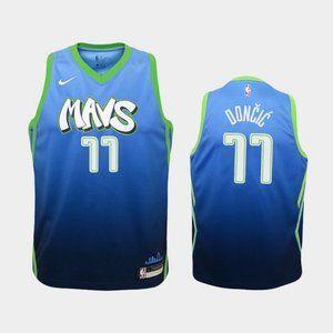 Women Dallas Mavericks Luka Doncic City Jersey